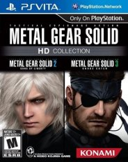 Metal Gear Solid HD Collection (2012) на PSVita