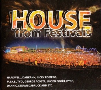 VA - House From Festivals [3CD] (2012) FLAC