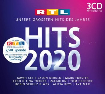 VA - RTL Hits 2020 [3CD] (2020) MP3